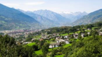 Chatillon in the Aosta Valley