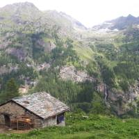 Room with a spectacular view of the Upper Lys Valley in Italy