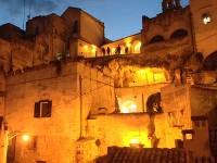 At night the Sassi District of Matera feels like an ancient town |  <i>Kate Baker</i>
