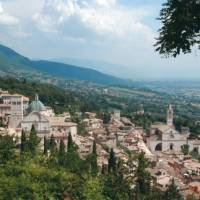 A short walk to the fort above Assisi provides an inspiring view of the old citadel   Sue Badyari