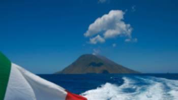Boat to the Sicilian Island of Stromboli | Mike Gebicki