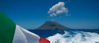 Boat to the Sicilian Island of Stromboli | Mike Gebicki