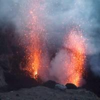 Eruptions on Stromboli, Sicily | Kate Baker