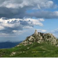 Fabulous scenery on the Magna Via Francigena in Sicily