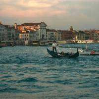 Gondola on Grand Canal in Venice   Kate Baker