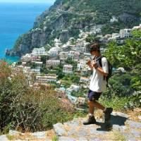 Hiking above Positano on the Amalfi coast, Italy   Sue Badyari
