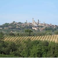 The famous 'skyline' of San Gimignano
