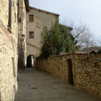 Walking through hilltop towns is a highlight on the St Francis Way