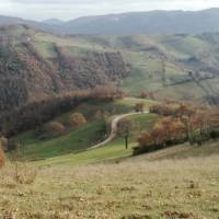 The rolling landscapes of Umbria are a feature of the St Francis Way camino route