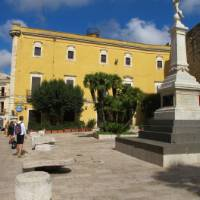 A small piazza in the town of Gioia del Colle enroute to Alberobello | Ross Baker