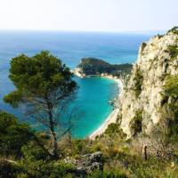 Cycle along the coastline from Nice in France to Genoa in Italy