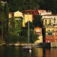 The stunning town of Varenna on Lake Como, Italy