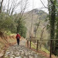 Hiking the Francigena Way above Santa Anna | Brad Atwal