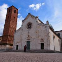 Church in the main square at Pietrasanta, a town famous for its sculptures | Brad Atwal