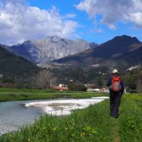 Walking near the town of Massa, famous for its marble production | Brad Atwal