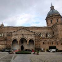 Palermo Cathedral is the starting point of the Magna Via Francigena in Sicily