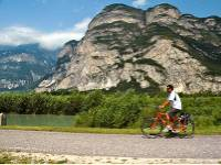 Passing the Dolomites on cycleway, Italy |  <i>Sue Badyari</i>
