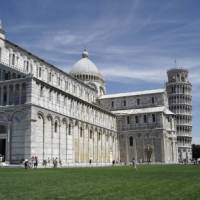 Pisa and the famous leaning tower