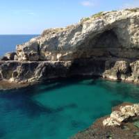 Grotto Diavolo where the Ionian Sea meets the Adriatic   Kate Baker