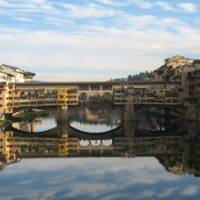 Reflections in the Arno in Florence, Italy | Chris Brierley