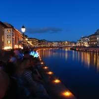 River of lights in Pisa, Italy | Christina Dott