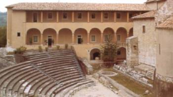 Spoleto Amphitheatre, Umbria, Italy