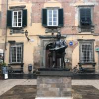 Statue of Giacomo Puccini in Lucca | Kate Baker