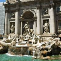 The infamous Trevi fountain in Rome, Italy | Sue Badyari