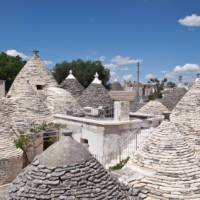 The beehive shaped 'Trulli' - ancient houses of Puglia