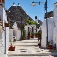 Trulli in the UNESCO town of Alberobello   Lesley Treloar