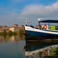 Sailing through the Veneto region of Italy