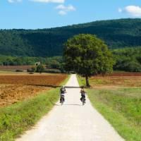 Cycling the Via Francigena in Italy