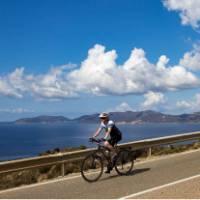 Cycling along the south coast of Sardinia