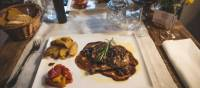 A tasty meal is part of the experience on the Via Francigena | Tim Charody