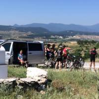 Vehicle support makes the ride to Meteora more comfortable