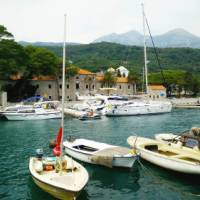 Visit Herceg Bovi, a charming little town located in the bay of Kotor