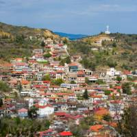 Small village in the Troodos Mountains | A. Lorenzetto