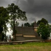 Typical Polish architecture in the countryside