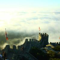 High above the clouds on the Castelo dos Mouros in Sintra | Linda Murden