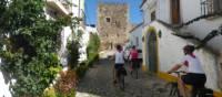 Cycling through villages in the Alentejo region