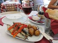 Typical Portuguese food on Camino Portuguese tours |  <i>Jaclyn Lofts</i>