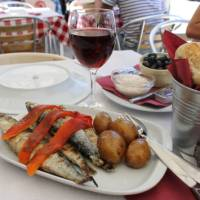 Typical Portuguese food on Camino Portuguese tours   Jaclyn Lofts