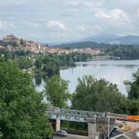 Looking at Tui across the Mino River at the start of your Portuguese Camino walking tour   Tatjana Hayward