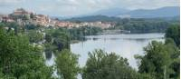 Looking at Tui across the Mino River at the start of your Portuguese Camino walking tour |  <i>Tatjana Hayward</i>