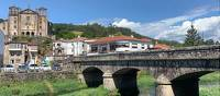 The Santiago Church across the River Sar in Padron | Tatjana Hayward