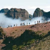 Hiking in the Pico Ruivo, Madeira, Portugal