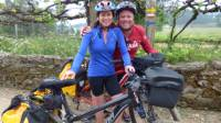 All smiles on the self guided cycle between Porto and Santiago |  <i>Pat Rochon</i>