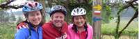 Happy cyclists on the Porto to Santiago self guided cycle |  <i>Pat Rochon</i>