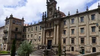 San Martino Pinario Convent in Gelmirez Palace Square, Santiago de Compostela | Pat Rochon