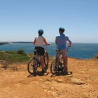 Stunning views on our Algarve Cycle trip in Portugal